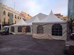 Carpas plegables
