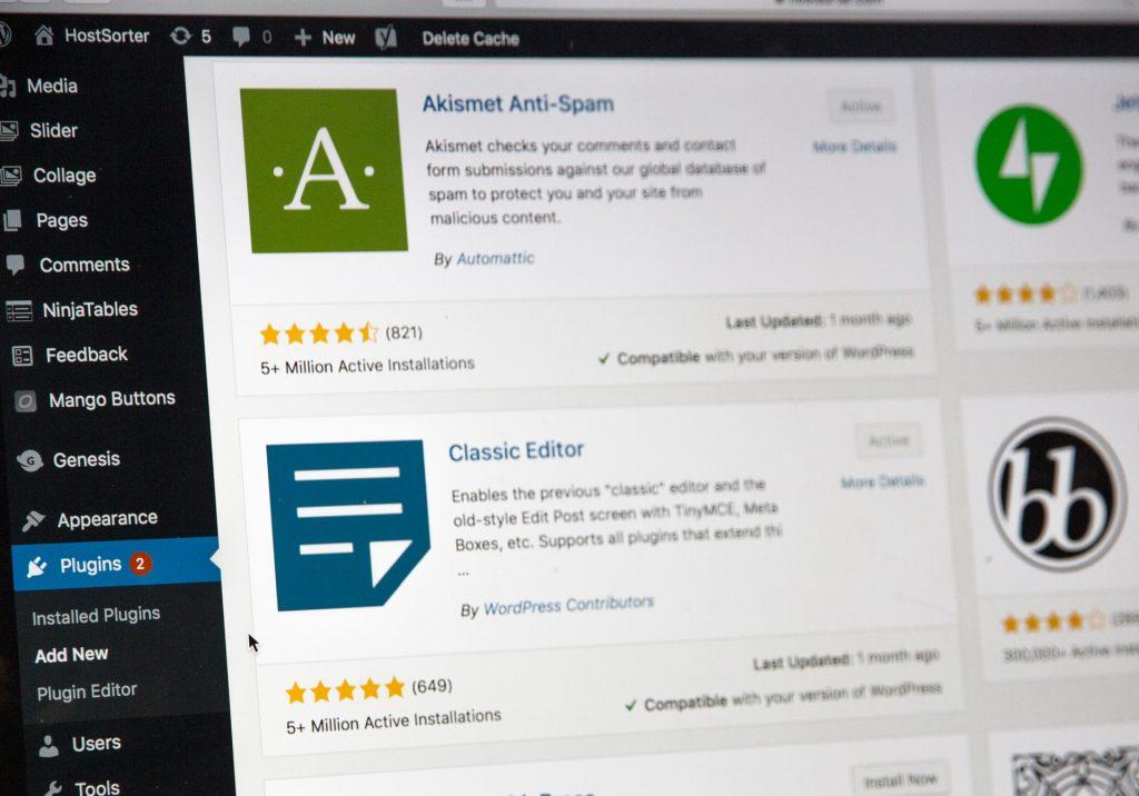 WordPress herramienta para el diseño web